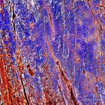 Digital Art - Purple Archetypal Sound by Silva Wischeropp