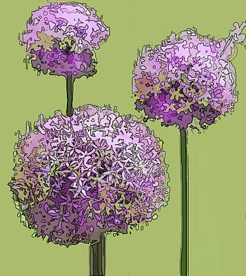 Photograph - Purple Balls by Ian  MacDonald