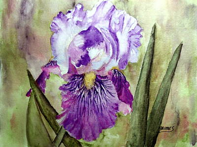 Painting - Purple Beauty by Carol Grimes