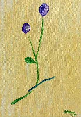 Painting - Purple Buds by Jamie Frier