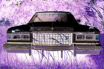 Photograph - Purple Cadillac by Julie Niemela