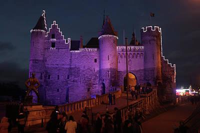Photograph - Purple Castle by Erik Tanghe