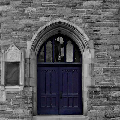 Photograph - Purple Church by Brenda Conrad