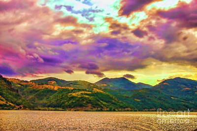 Photograph - Purple Clouds by Rick Bragan