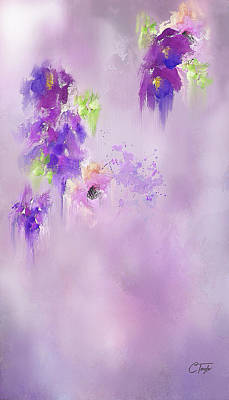 Mixed Media - Purple by Colleen Taylor