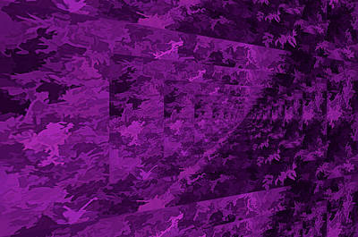 Photograph - Purple Corridor by Aliceann Carlton