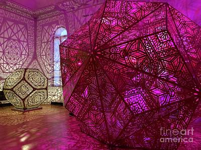 Photograph - Purple Cubes by Flavia Westerwelle