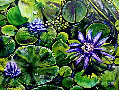 Painting - Purple Dawn by Elizabeth Robinette Tyndall