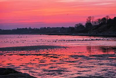 Purple Dawn Original by Kim Lessel