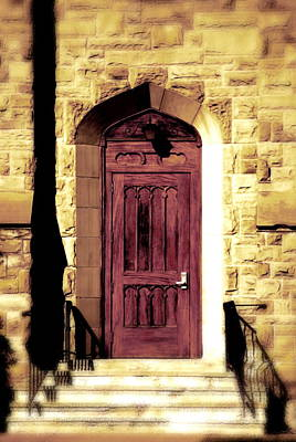 Photograph - Purple Door by Emily Stauring