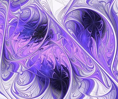 Purple Dream Print by Anastasiya Malakhova