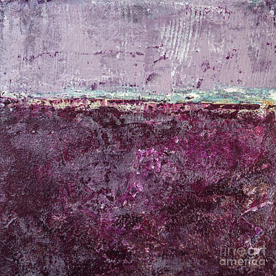 Painting - Purple Dusk by Susan Cole Kelly Impressions
