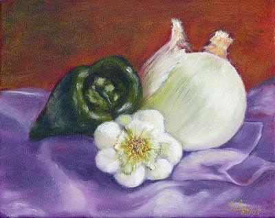 Painting - Purple Elegance by Tracie L Hawkins