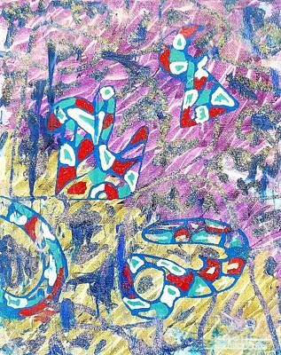 Painting - Purple by Elina Silva