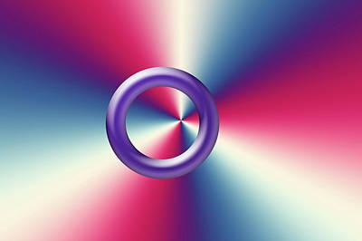 Photograph - Purple Eye by Tina M Wenger