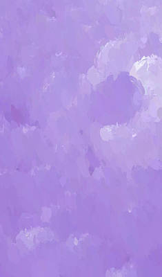 Mixed Media - Purple Flow by Anthony Fishburne