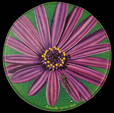Painting - Purple Flower by Amanda  Lynne