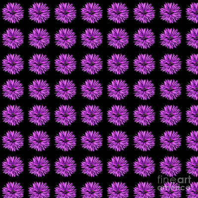 Digital Art - Purple Flower Days by Tracey Everington