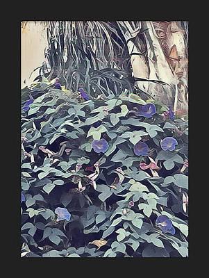 The Trees Mixed Media - Purple Living  by Ryan Fox