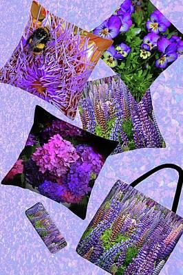 Photograph - Purple Flowers by Nareeta Martin