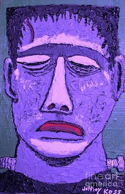 Painting - Purple Frankenstein by Jeffrey Koss