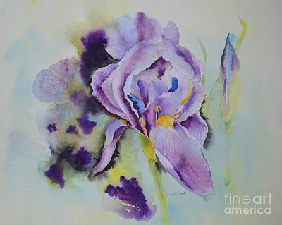 Painting - Purple Glory by Beatrice Cloake
