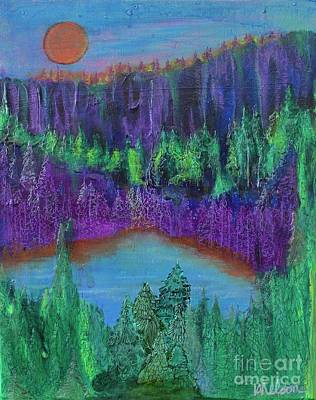 Painting - Purple Gorge by Kim Nelson