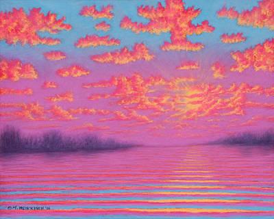 Pastel - Purple Haze 01 by Michael Heikkinen
