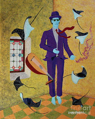 Purple Haze Original by Dan O'Neill