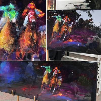 Painting - Purple Haze by Heather Roddy