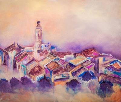 Painting - Purple Haze by Jenny anne Morrison