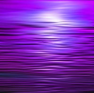 Seacape Painting - Purple Haze by Karen Conine