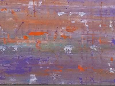 Abstact Landscapes Painting - Purple Haze by Lynda Lougheed