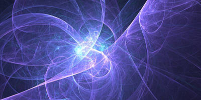 Digital Art - Purple Haze by Pirillo
