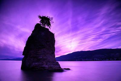 Canadian Landscape Photograph - Purple Haze by Stephen Stookey