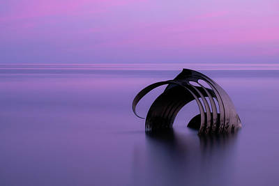 Photograph - St Mary's Shell, Cleveleys Blackpool by Mark Boadey