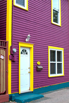 Photograph - Purple House by Douglas Pike