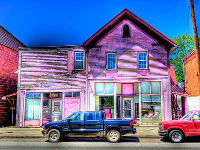 Photograph - Purple House by Jonny D