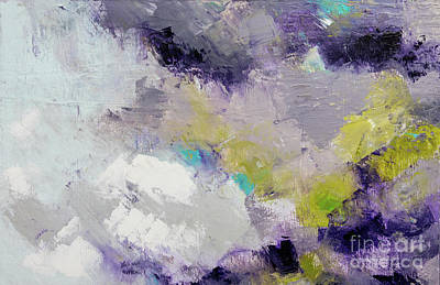 Painting - Purple Ice Clouds by Gallery Messina