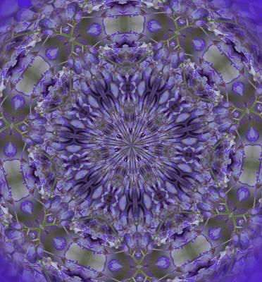 Digital Art - Purple Infusion by Cathy Harper