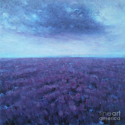 Painting - Purple It Is by Jane See