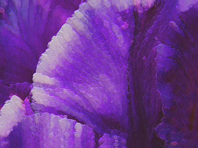Abstact Painting - Purple  by Jack Zulli