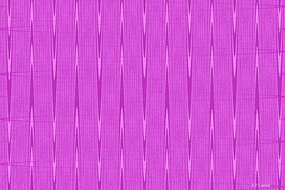 Digital Art - Purple Janca Abstract Panel #1151ew1abrp by Tom Janca