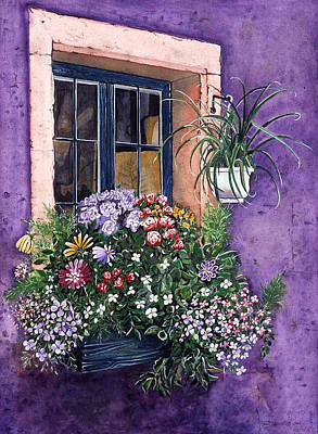 Painting - Purple by Jean Sumption