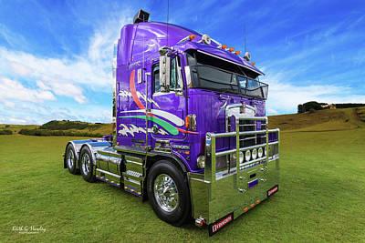 Photograph - Purple Kenny by Keith Hawley