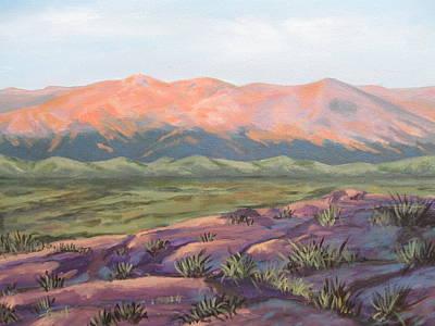 Painting - Purple Landscape by Gene Foust