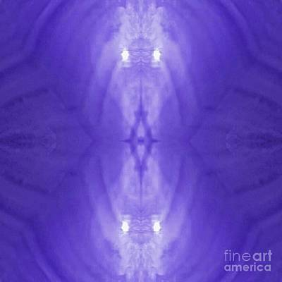 Photograph - Purple Light Phantom  by Rachel Hannah