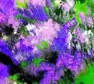Painting - Purple Lilacs by Nikki Dalton