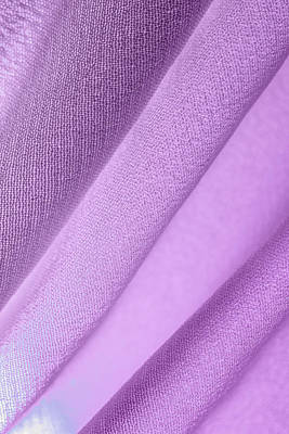 Photograph - Purple Lines Across Fabric by Yogendra Joshi