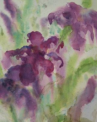Painting - Purple Magic by Sandy Collier